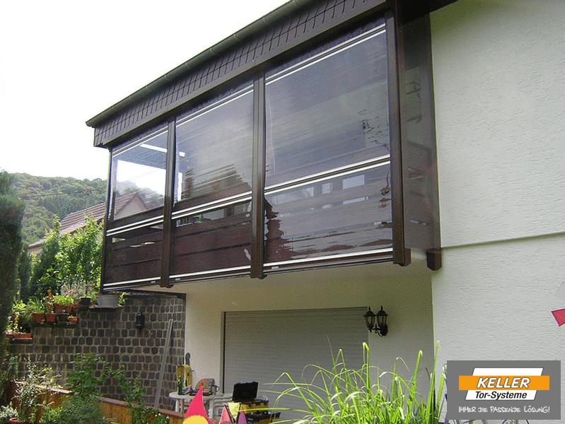 Witterungsschutz Fur Terrasse Balkon Und Carport Das Rollfenster
